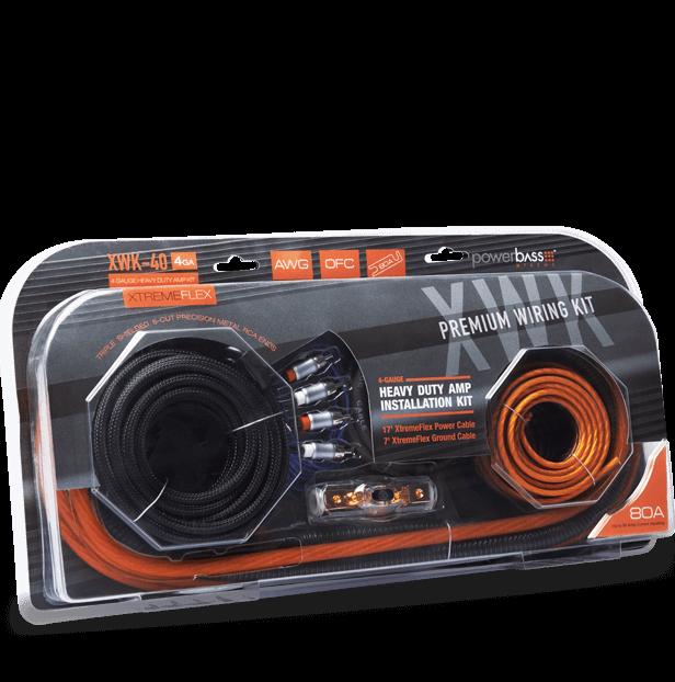 XWK-40 4ga Wiring kit
